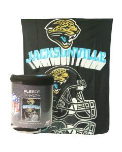 NFL Jacksonville Jaguars Fleece Throw Blanket