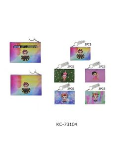 Coin Purse - Frida KC-73104 SOLD BY THE DOZEN