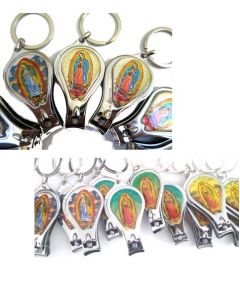 Guadalupe Nail Clipper Keychain- KY393 SOLD BY THE DOZEN