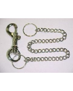 KC (Keychain) - 6696 12'' Chain With Clip SOLD BY DOZEN