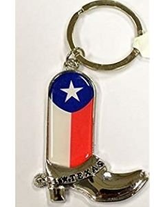 KC (Keychain)  66430 Texas Flag Boot SOLD BY THE DOZEN