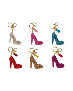 KC (Keychain) 69019 Bling High Heel SOLD BY THE DOZEN