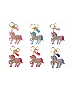 KC (Keychain) 69020 Bling Unicorn SOLD BY THE DOZEN