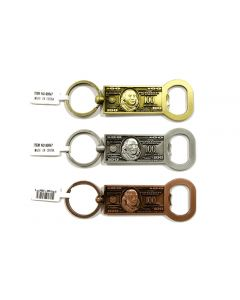 KC (Keychain) 69547 $100 Bottle Opener SOLD BY THE DOZEN