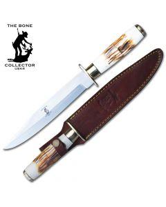 Knife BC-786 Bone Handle Hunting Knife
