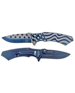 Knife - KS33299BL 3.25'' Blue Star