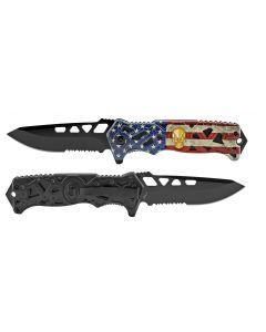 Knife - KS2451UF USA/SKULL