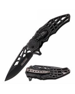 Knife - KS3605BK Skull/Spider
