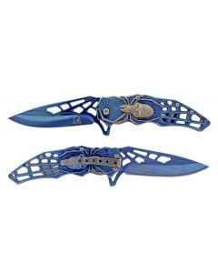 Knife - KS3605BL Spider/Skull