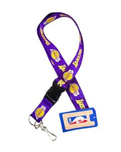 NBA Los Angeles Lakers Lanyard - Purple