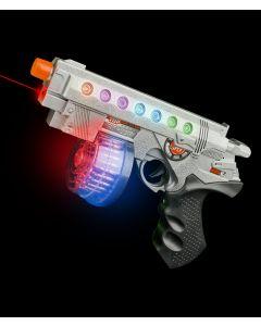 Super Gun RF223 (AT756) with Batteries - Light Up