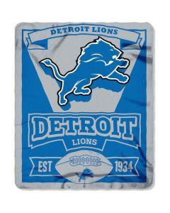 NFL Detroit Lions Fleece Throw Blanket