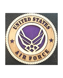 Texas Decor -  United States Air Force Wood Magnet