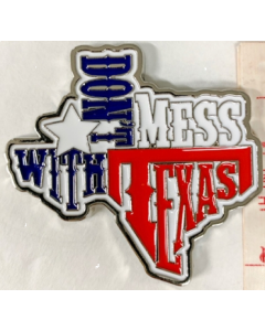 Texas Decor - DMWT Metal Magnet CM-001/9