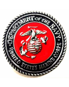 Texas Decor - United States Marine Corps Metal Magnet