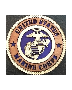 Texas Decor -  United States Marine Corps Wood Magnet Magnet