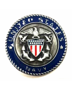 Texas Decor - United States Navy Metal Magnet