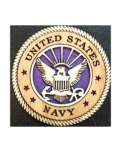 Texas Decor -  United States Navy Wood Magnet