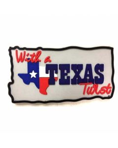 Magnet With A Texas Twist