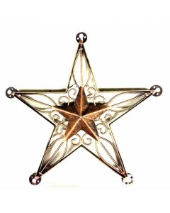 Texas Decor - Metal Star A17014