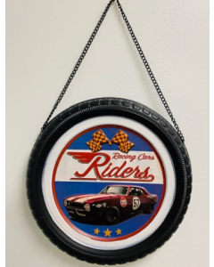 Texas Decor - Metal Tire - Racing