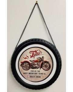 Texas Decor - Metal Tire - Speed Engine