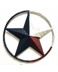 Texas Decor - Metal License Plate TX Star B2004