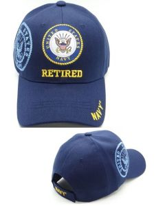 United States Navy Hat- Retired w/Seal & Shadow CAP1431