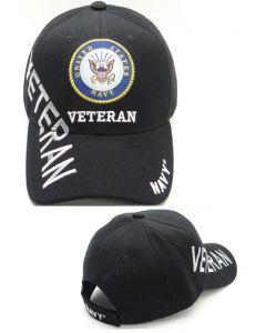 United States Navy Hat- Veteran Shadow-BK CAP1453