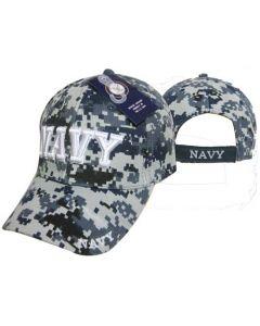 "United States Navy Hat ""NAVY"" (LG WHT TEXT)-Digi CAP602DC"