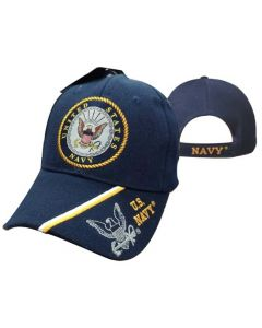 United States Navy Hat Seal w/Logo Shadow Bill CAP602L