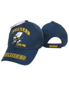 United States Navy Hat ''SEABEES CAN DO'' - NV CAP602R
