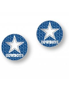 NFL Cowboys Glitter Post Earrings
