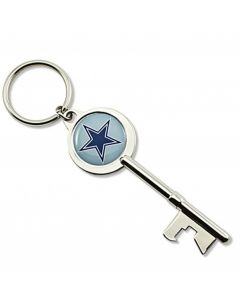 "NFL Dallas Cowboys Key Chain ""Key"" Bottle Opener"