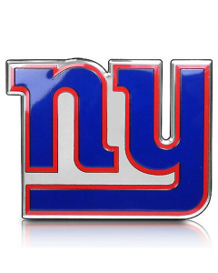 NFL - New York Giants Auto Emblem Color