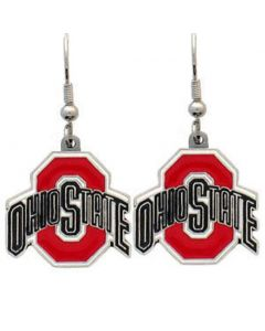 NCAA Ohio State Logo Earrings