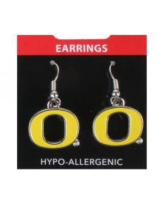 NCAA University of Oregon Ducks Earring Logo