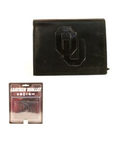 NCAA University of Oklahoma (OU) - Oklahoma Sooners Leather Wallet