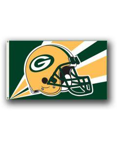 NFL Green Bay Packers Helmet Flag 3' X 5'