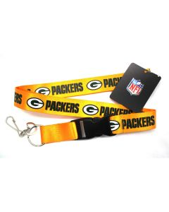 NFL Green Bay Packers Lanyard - Yellow