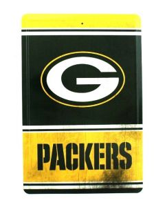 NFL Green Bay Packers Tin Sign