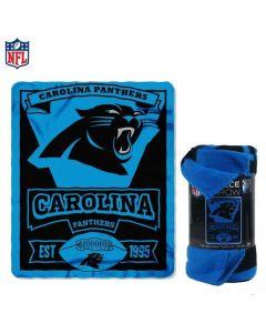 NFL Carolina Panthers Fleece Throw Blanket