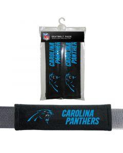 NFL Carolina Panthers Seatbelt Pads