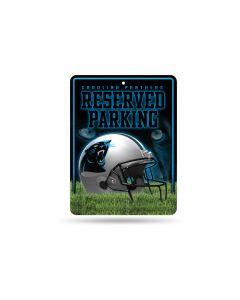 NFL Carolina Panthers Metal Parking Sign