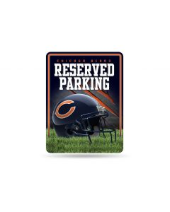 NFL Chicago Bears Metal Parking Sign