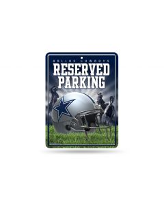 NFL Dallas Cowboys Metal Parking Sign