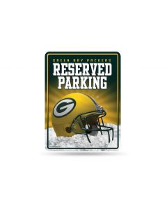 NFL Green Bay Packers Metal Parking Sign