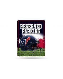 NFL Houston Texans Metal Parking Sign