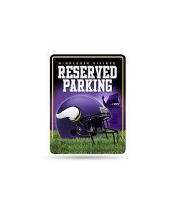 NFL Minnesota Vikings Metal Parking Sign