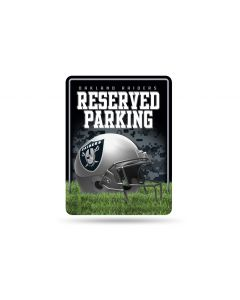 NFL Oakland Raiders Metal Parking Sign